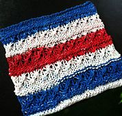 Ravelry: Stars 'n Stripes Dish Cloth pattern by Beth Richardson