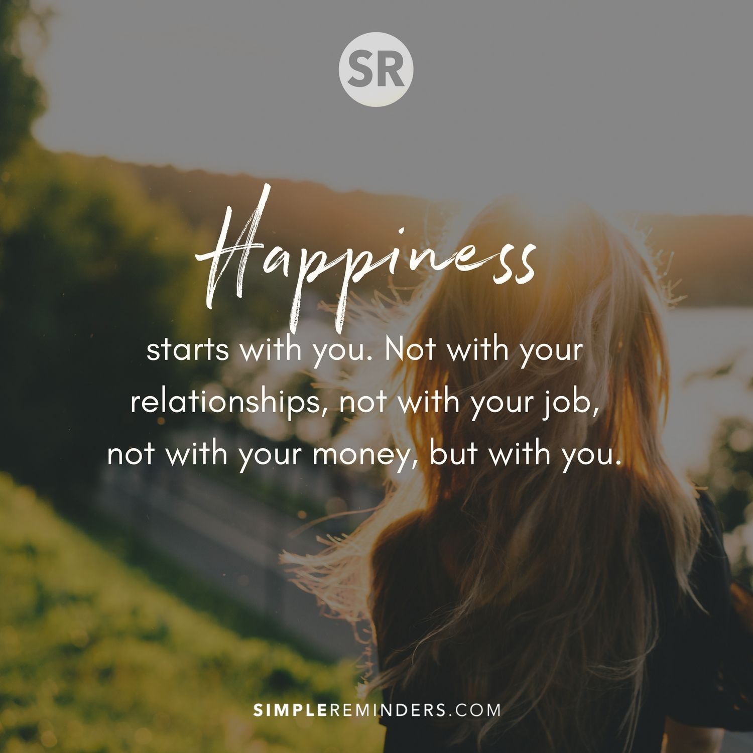 unknown author happiness starts you 2w7y - Simple