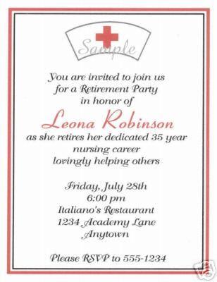 20 Custom Retirement Party Invitations