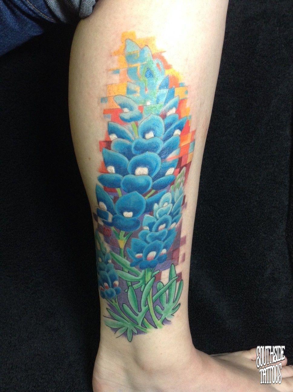 Austin Watercolor Tattoo: Southside Tattoos In Austin TX