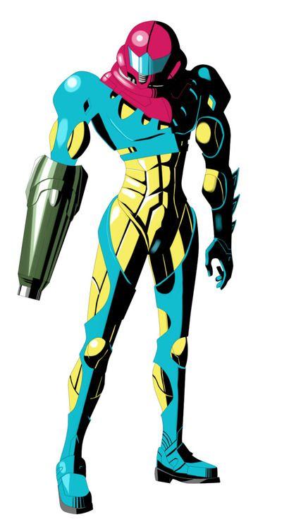 Samus Aran Fusion Suit