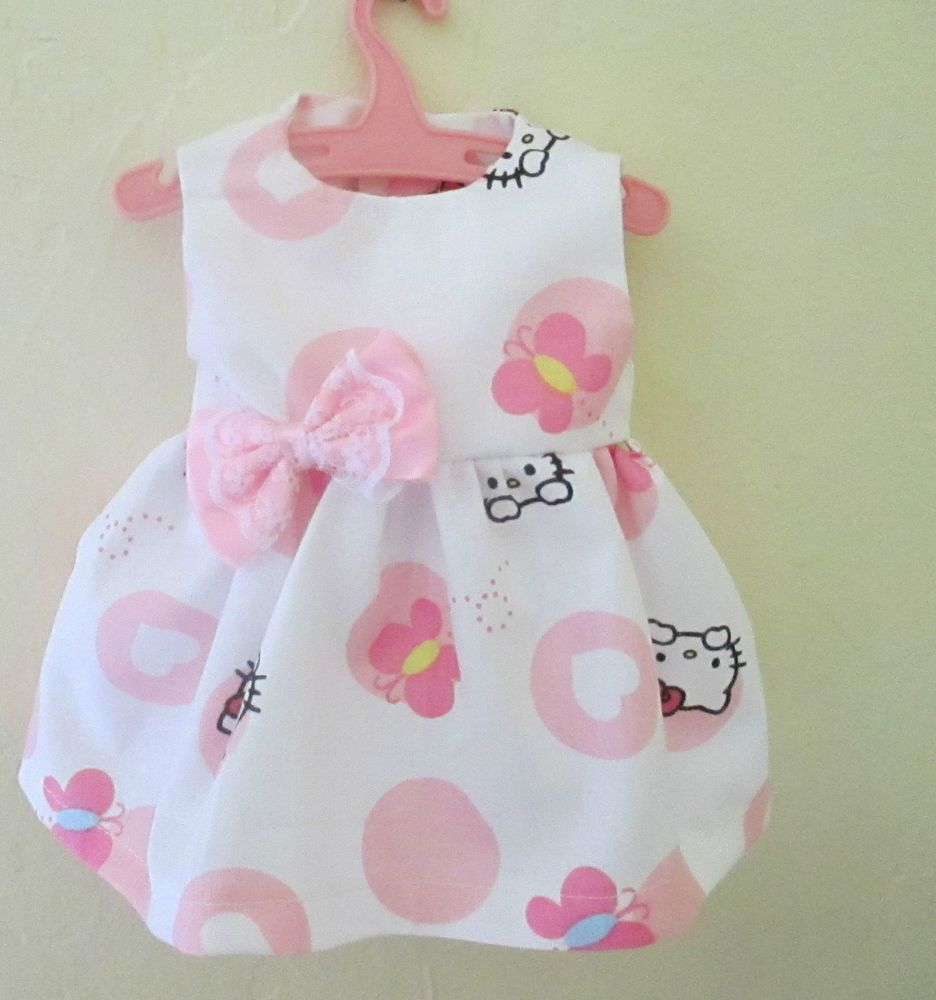 Baby 12 inch Alive doll shorts white with flowers on them