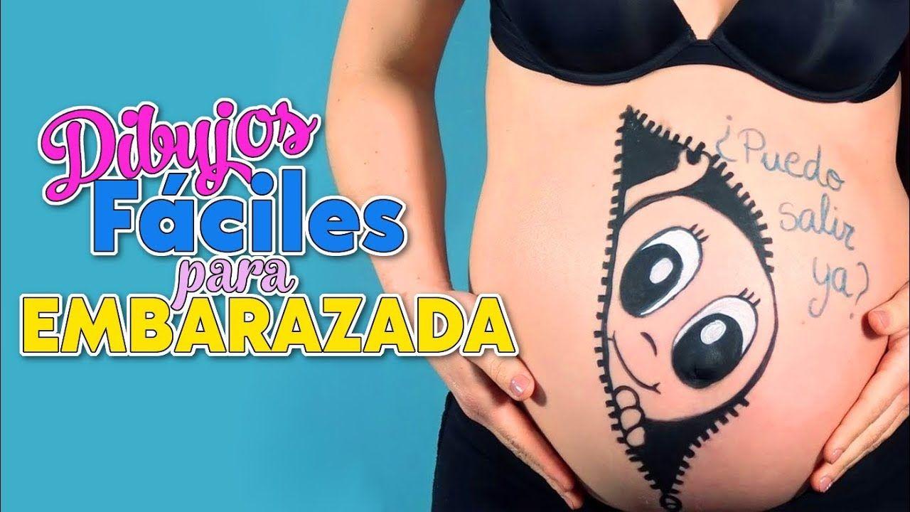 Pintando La Barriguita De Embarazada Dibujos Faciles Para Barriga De E Embarazo Dibujo Vientre Embarazado Dibujo Barriga Embarazada