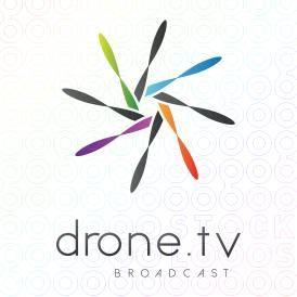 DroneTv logo - SOLD