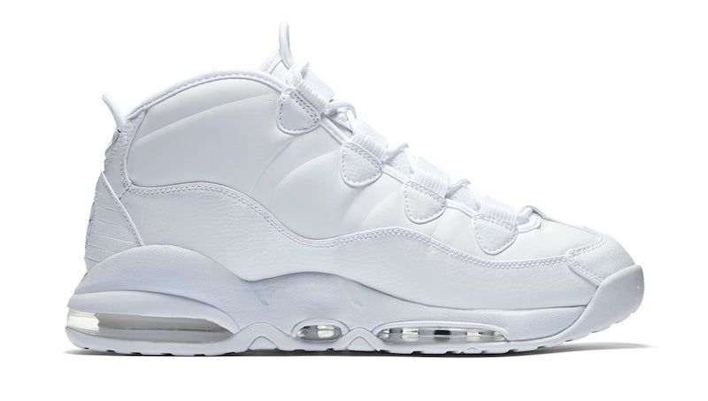 """Nike Air Max Uptempo Triple White The """"Triple White"""" collection by Nike  will continue"""