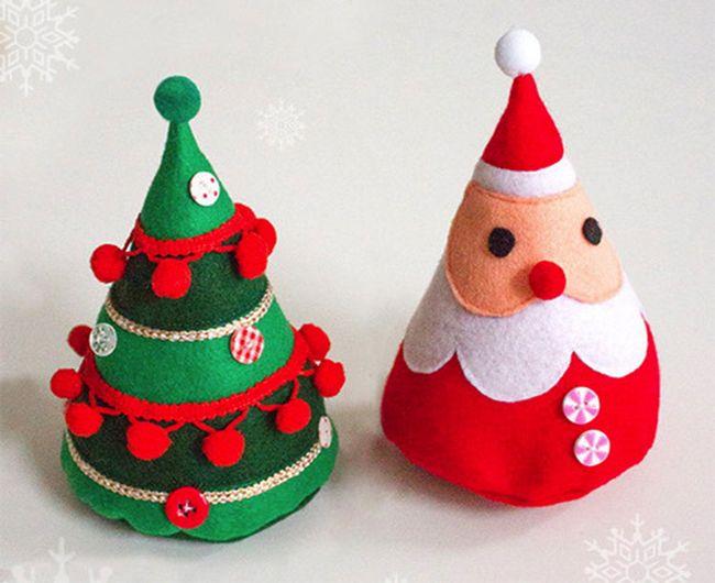 s es filz deko zur weihnachten aus dem makerist werkschau. Black Bedroom Furniture Sets. Home Design Ideas