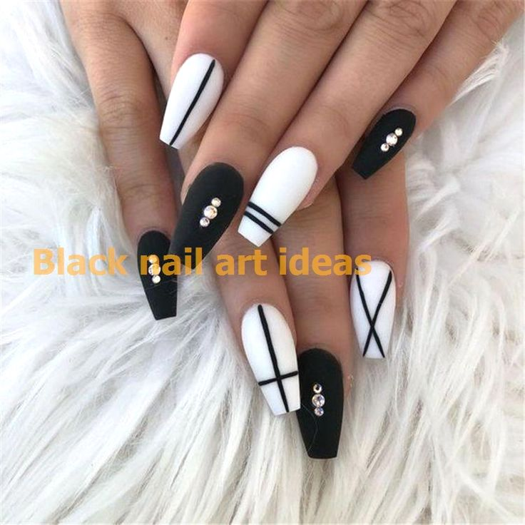 Photo of 20 SIMPLE BLACK NAIL ART DESIGN IDEAS  #nailideas