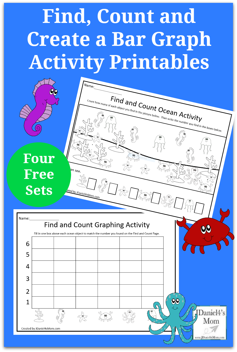 Find Count And Create A Bar Graph Activity Printables Your Children At Home Or Students Early Learning Math Math Activities Preschool Bar Graphs Activities [ 1228 x 828 Pixel ]