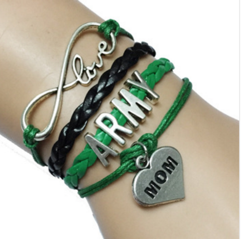 Free Army Mom Bracelet---- **Just Pay Shipping**