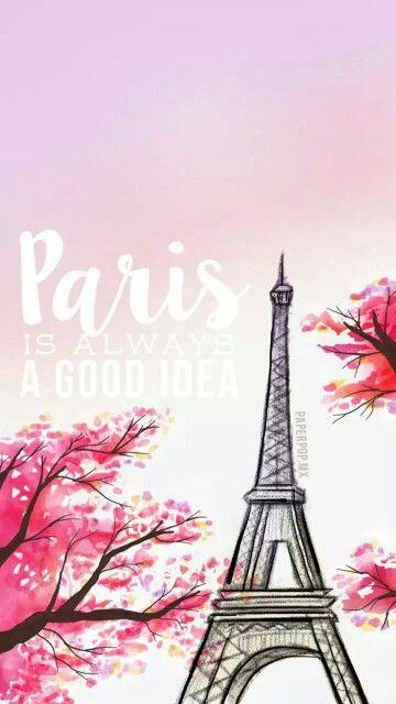 Paris. She