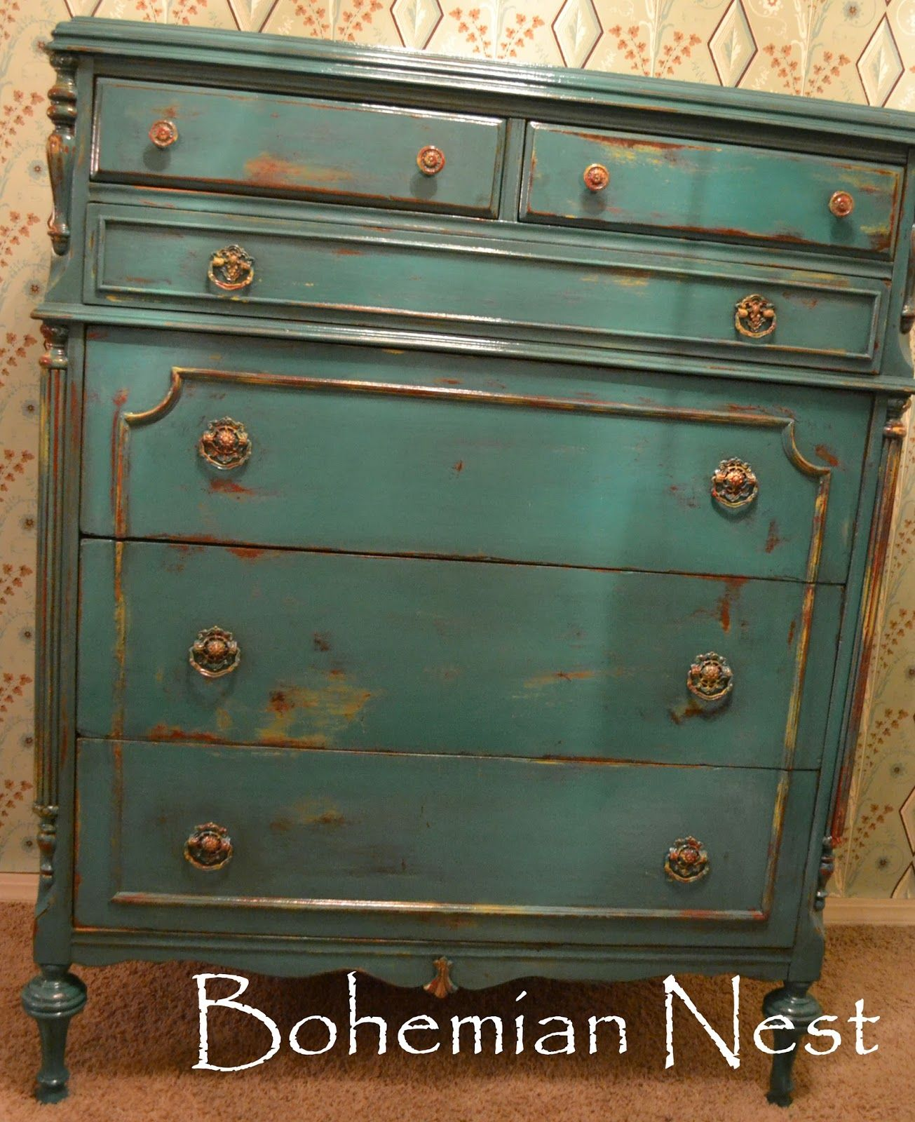 Uncategorized Turquoise Shabby Chic Furniture turquoise chest www facebook comthebohemianmoon vintage and comthebohemianmoon