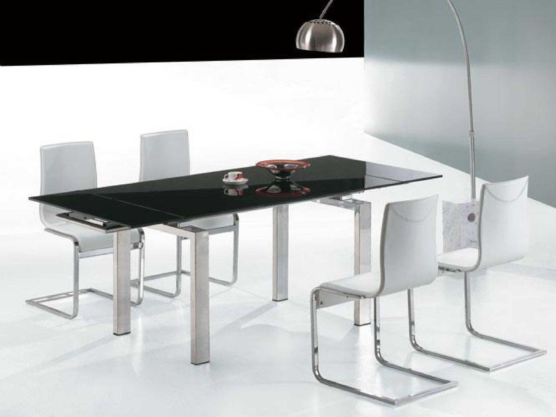 Furniture, Modern Black Glass Coffee Table Metal Arch Lamp Modern ...