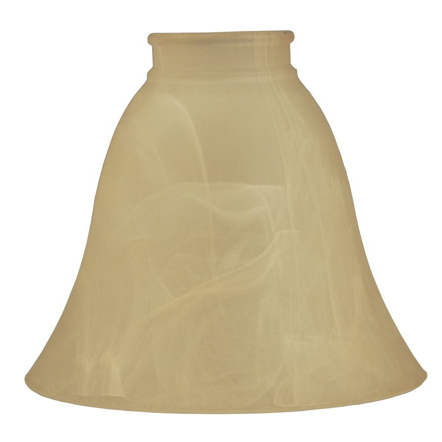 Amber alabaster lamp shade
