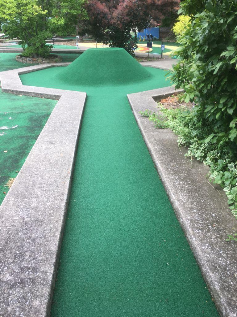 Lexington Ice Center Course 1 Hole 13 Mini Golf Reviews Mini Golf Miniature Golf Course Mini Golf Course