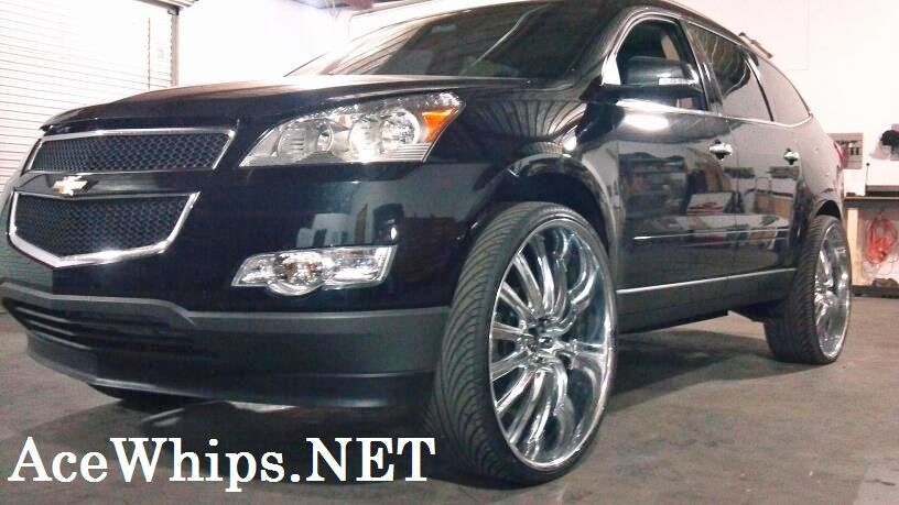 Chevy Traverse Rims | Hot Vehicles | Chevy, Truck parts ...