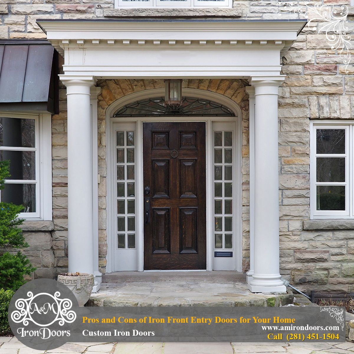 Pros And Cons Of Iron Front Entry Doors For Your Home Custom