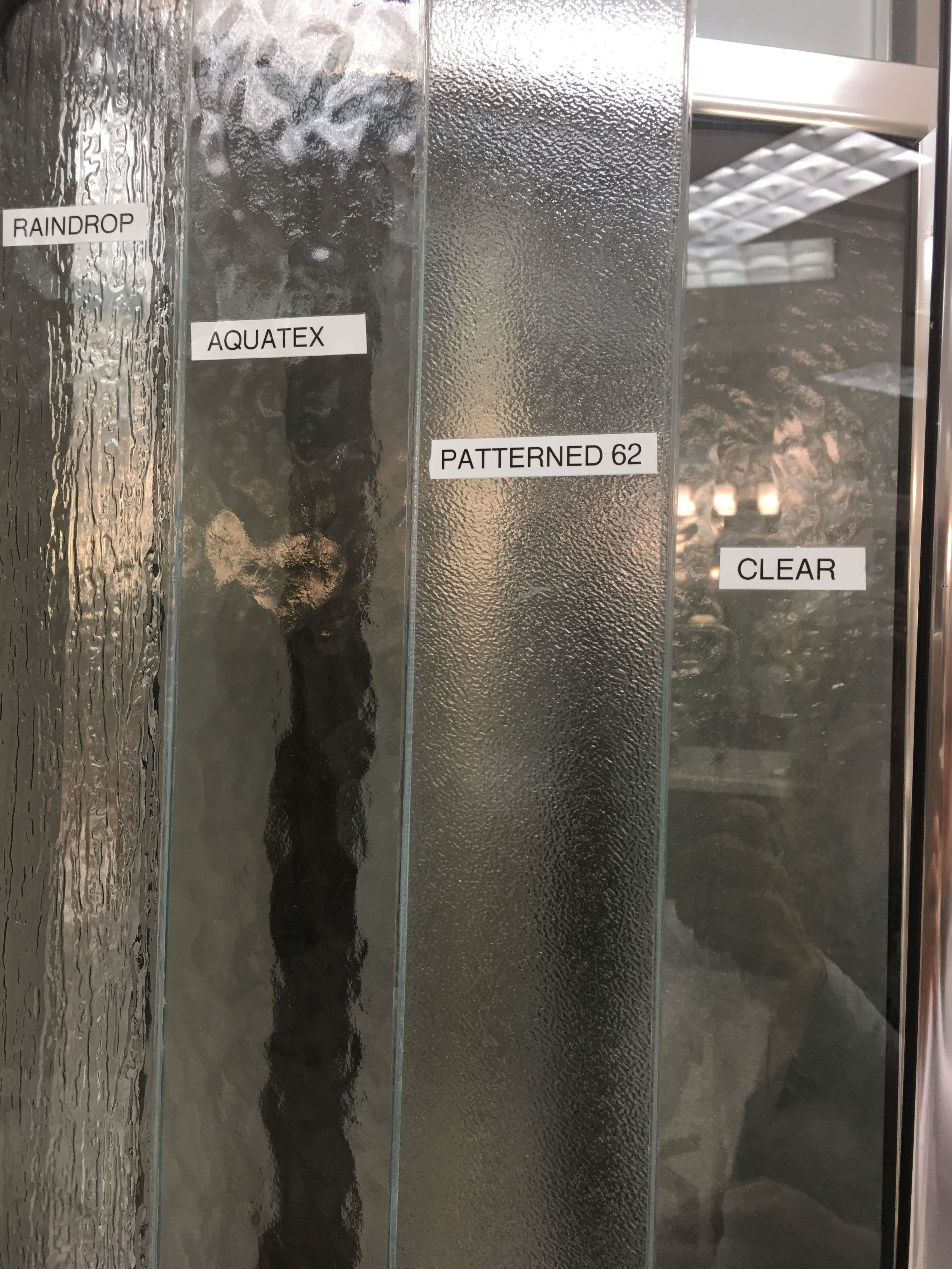 Standard Shower Glass Patterns Glass Shower Pattern Glass