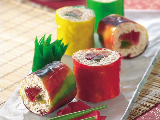Gluten-Free Fruiti Sushi #candysushi