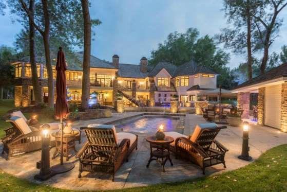 Dakota do SulOnde fica: Quail Hollow Circle, 940Valor: US$ 4,5 milhõesA mansão com cinco quartos e s... - Reprodução/FORBES