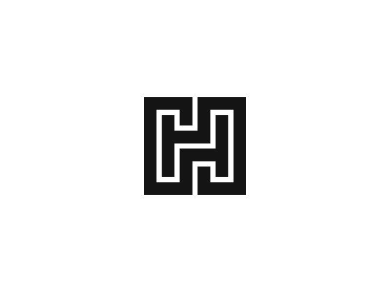 Hh Initials Logo Design Typeface Logo Logo Design