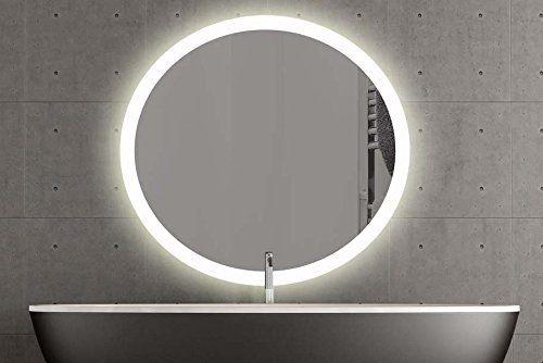 London Runder Spiegel Mit Led Beleuchtung Badspiegel Zimmer