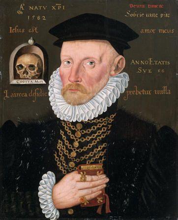 Portrait de Gawen Goodman de Ruthin, âgé de 56 ans, 1582