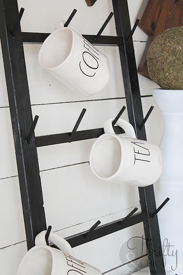 Diy Coffee Cup Display Rack Coffee Cup Holder Coffee