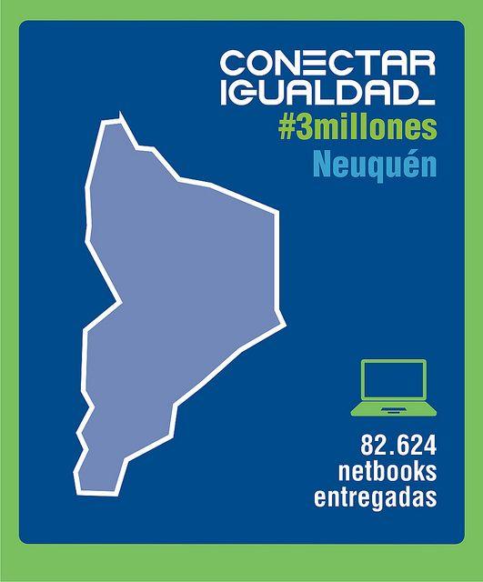 Conectar Igualdad #3millones Neuquén