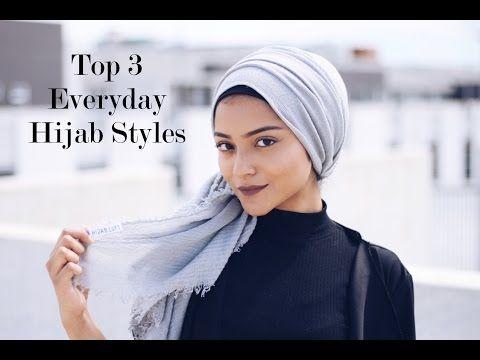 3 Estilos De Hijab Para El Verano Omaya Zein Youtube Hijab