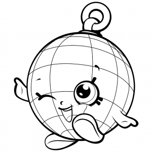 Shopkins Disco Ball Coloring Page Shopkins Colouring Pages Shopkins Coloring Pages Free Printable Shopkin Coloring Pages