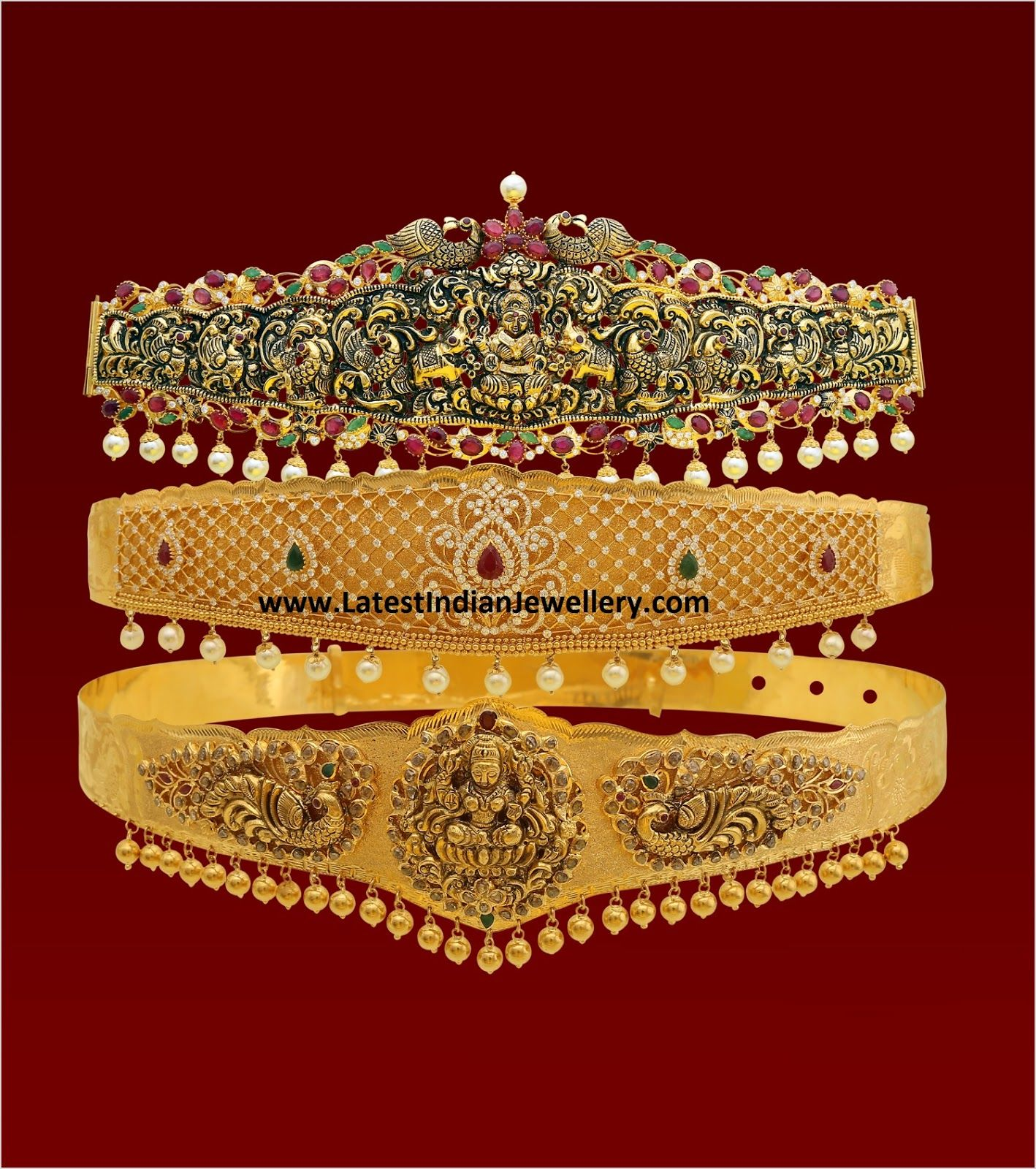 Gold vaddanam oddiyanam kammarpatta waisbelt designs south indian - Hot Vaddanam Designs