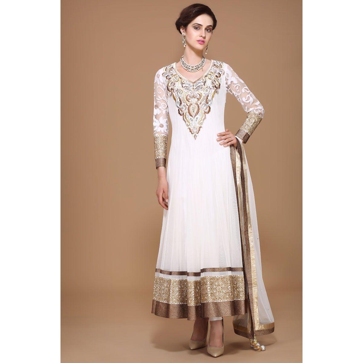 Online shopping for designer anarkali suits, salwar kameez, saree, Indian & Pakistani dresses, sari, Asian clothes, wedding bridal lehenga for express delivery in UK. Visit andaazfashion.co.uk.