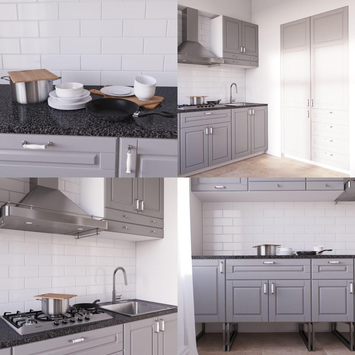 ikea bodbyn 3d model | CS kitchens