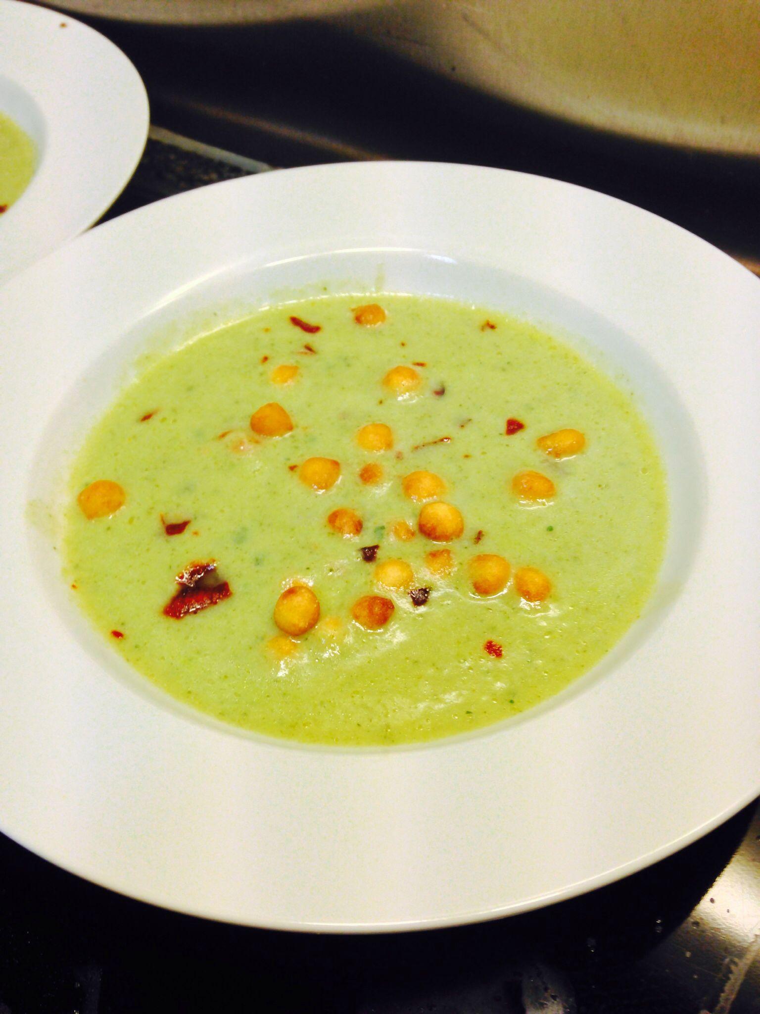 Zuchini suppe