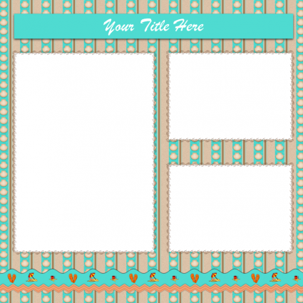 Beach Scrapbook Layouts | Beach scrapbook layouts, Layout template ...
