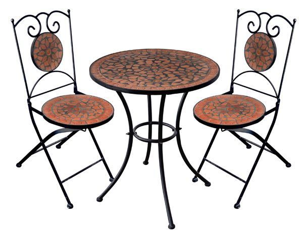 Mosaic Bistro Table Sets New Mosaic Bistro Table And Chairs