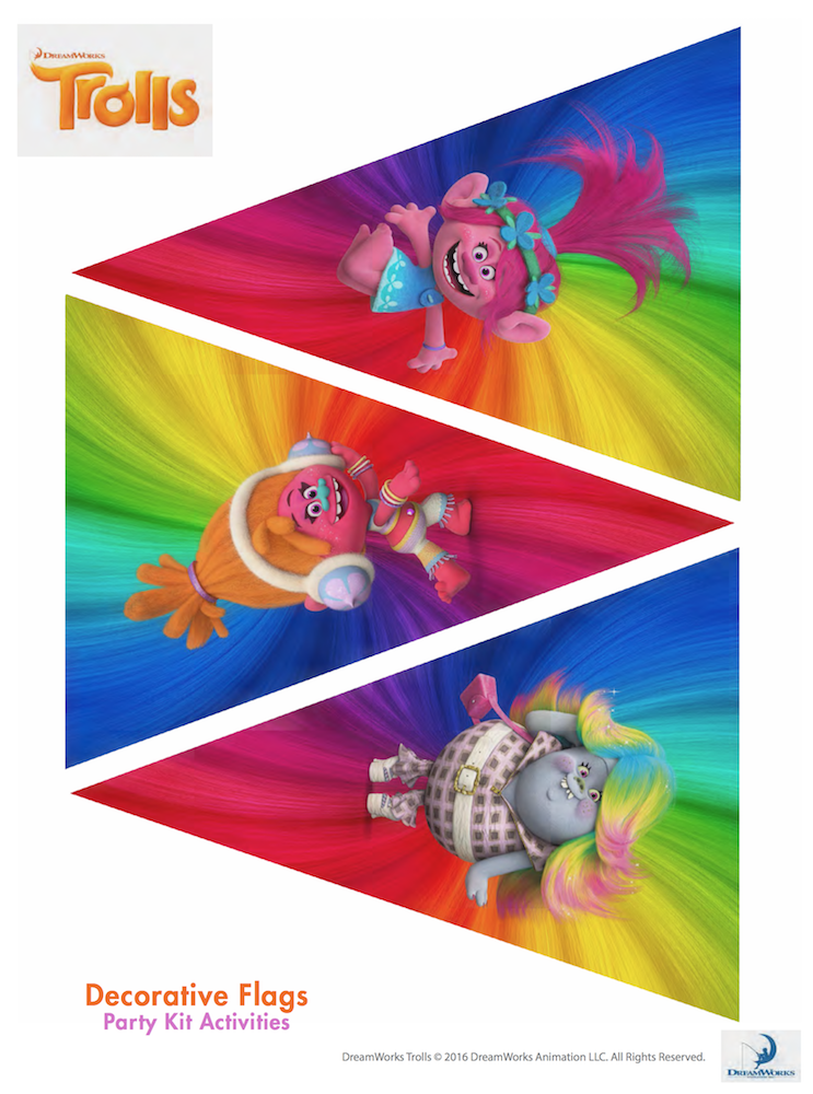 FREE Trolls Party Ideas amp Printables Find Your Happy
