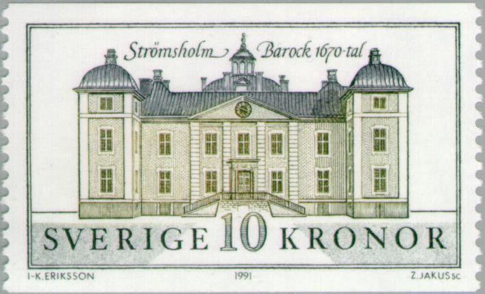 Sello: Strömsholm (Suecia) Mi:SE 1684,Sn:SE 1874,Yt:SE 1666