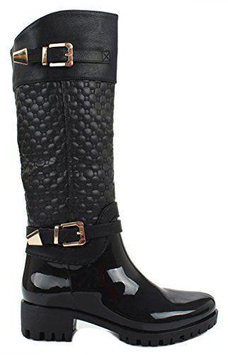 Women Forever Black Knee High Side Zip Riding Winter Rain... https://www.amazon.com/dp/B017S3TETY/ref=cm_sw_r_pi_dp_x_6nrLybEN41A1B