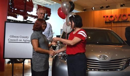 Charming 2016 TMMI/Toyota Motor Manufacturing Indiana   20th Anniversary Celebration    Vehicle Donation