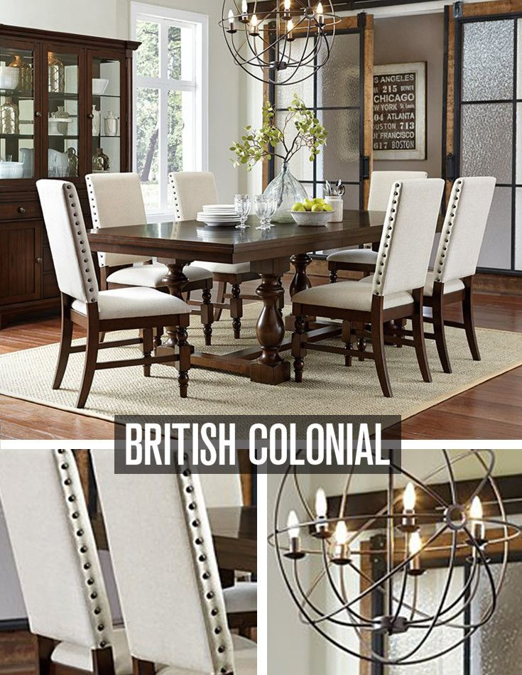Super This Dining Set Is Influenced By British Colonial Style Yet Download Free Architecture Designs Rallybritishbridgeorg