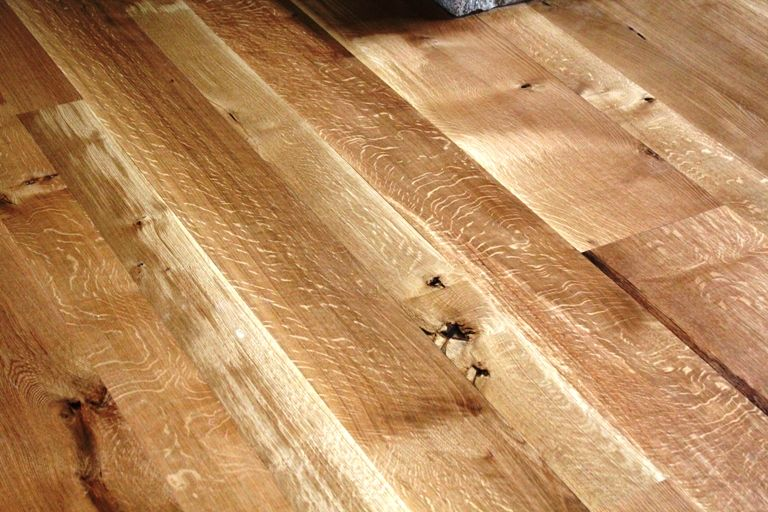 Rift And Quarter Sawn White Oak Floors.