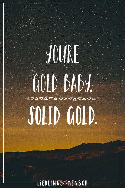 Gold Zitate