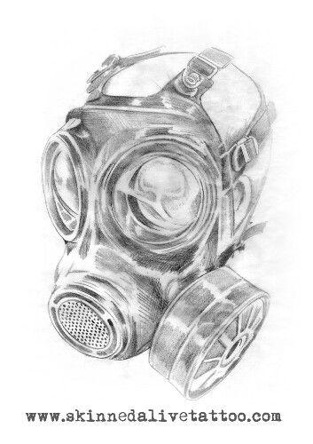 Images For Skull Gas Mask Drawings Craneos Y Calaveras Mascaras De Gas Dibujos De Tatuajes