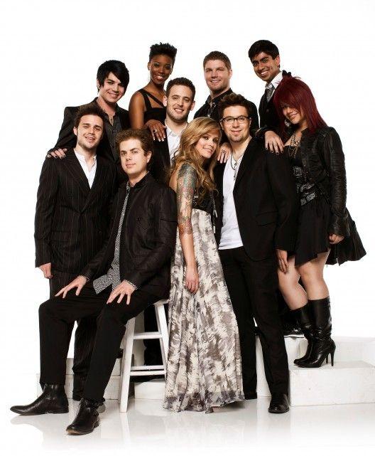American Idol 2009 Top 10 Season 8 Adam Lambert Lil Rounds