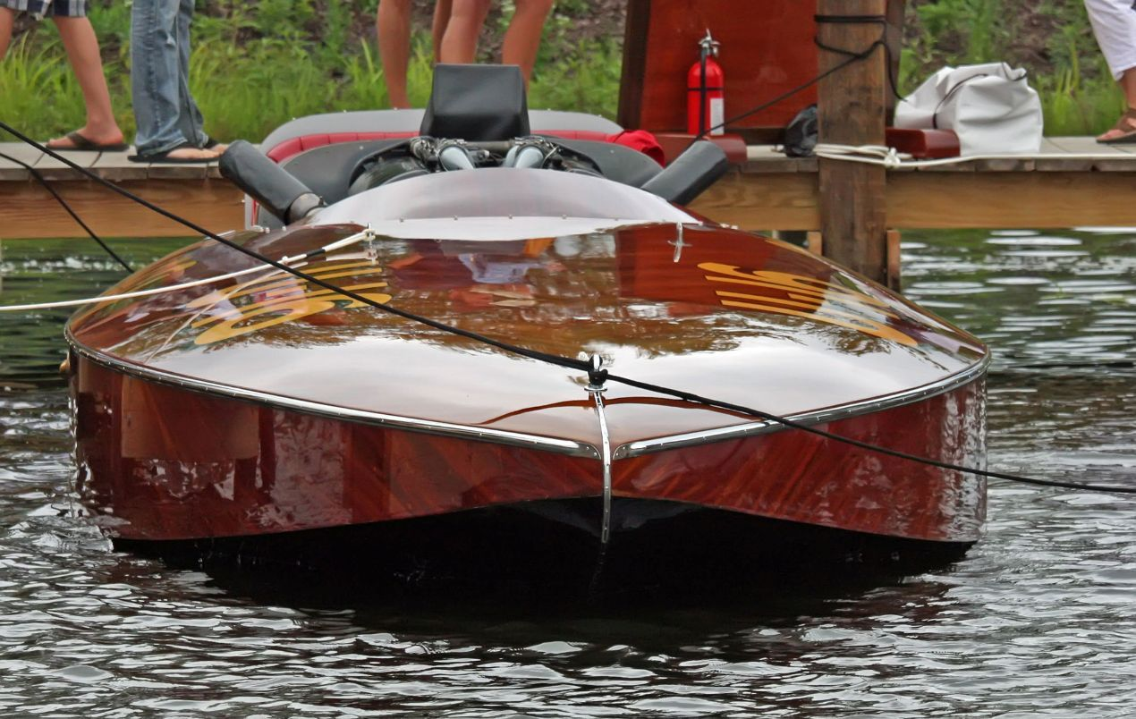 The Fourth Annual Gull Lake Classic Boat Show Firing On