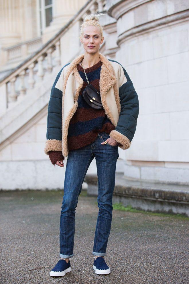 Aymeline Valade à la Fashion Week