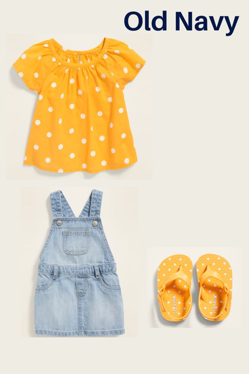 Old Navy Baby Girl Outfit