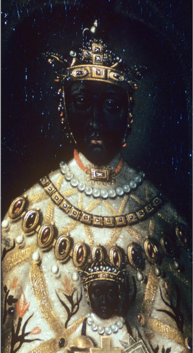 Unknown  Black Virgin of Le Puy (Vierge Noir du Puy)  France (17th century, replaces Medieval work) France, Haute-Loire, Le Puy. Located on the main altar of the cathedral of Notre-Dame of Le Puy