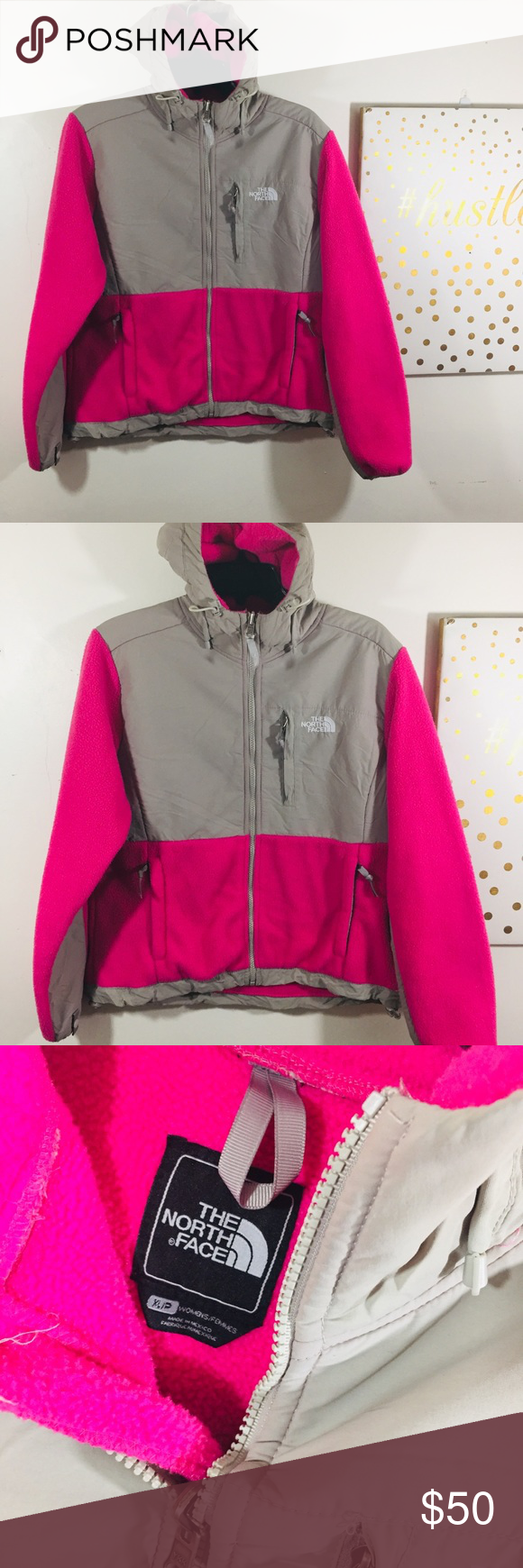The North Face Pink And Gray Fleece Jacket Grey Fleece Jacket Fleece Jacket Pink Grey [ 1740 x 580 Pixel ]